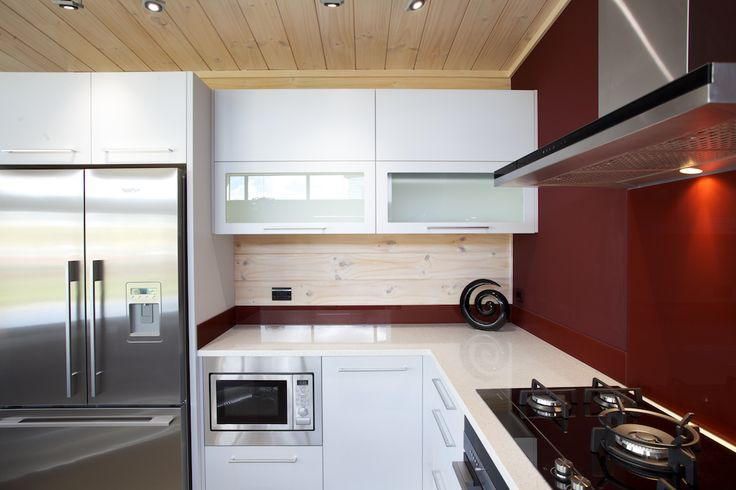 Kitchen with great scullery in Lockwood Kaipara show home in West Auckland