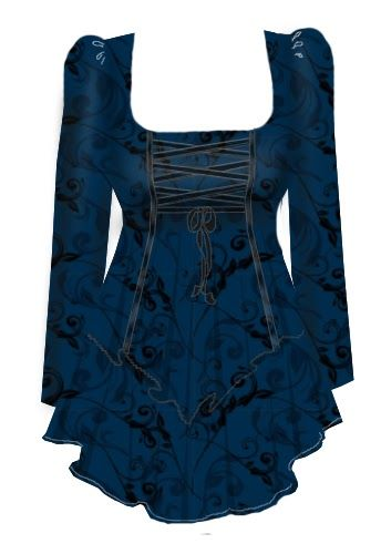 floral,gothic,top.jpg (344×500)