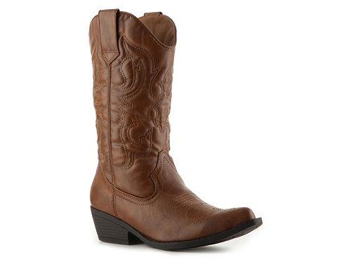 Madden Girl Sanguine Western Boot