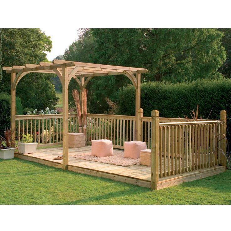 157 best pergola images on pinterest | landscaping, patio ideas ... - Wood Patio Designs