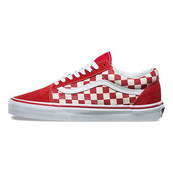 Primary Check Old Skool | Shop Classic Shoes | Vans shoes