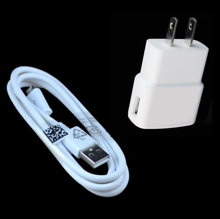 6FT Samsung Galaxy S2 S3 S4 Micro USB Data Cable  Home Wall Charger OEM Quality
