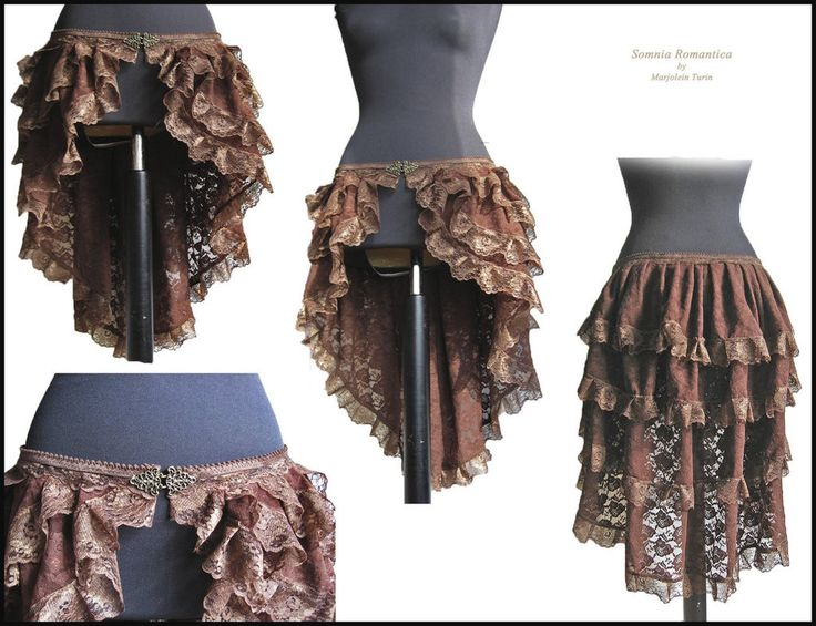 Steampunk bustle, Somnia Romantica by M. Turin by SomniaRomantica on deviantART