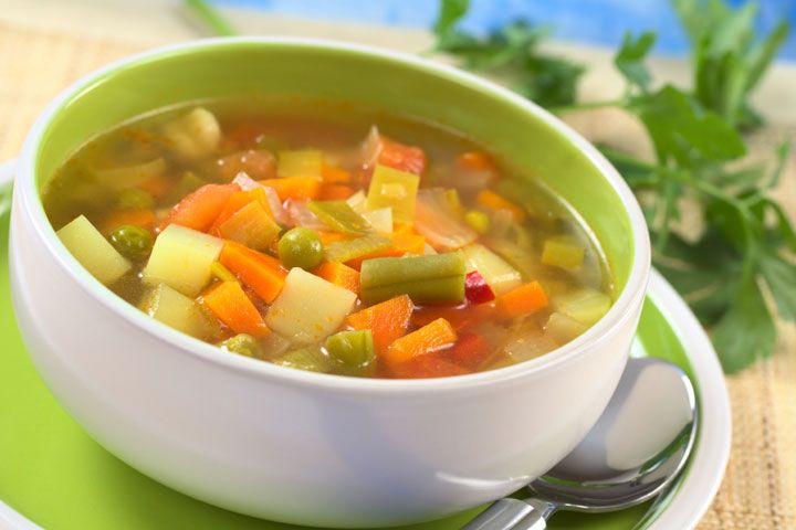 Negative Calorie Soup: Try out this negative calorie effect soup recipe that you can eat all day long.