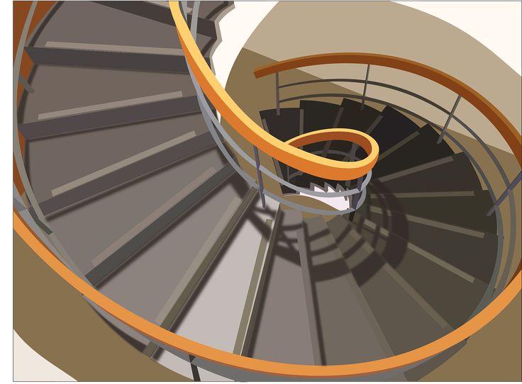 Les différents types de rampes d'escalier