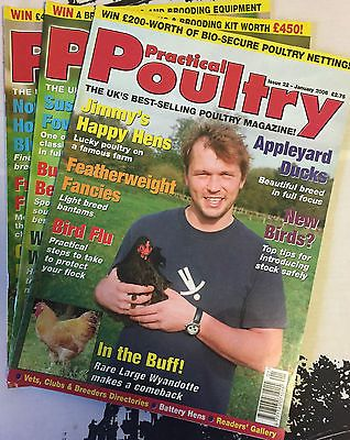 Practical Poultry Magazine-Chicken-Ducks-Game-Goose-Quail-Rabbits-#22 to 24-2006 Pet Supplies:Poultry & Waterfowl #forcharity