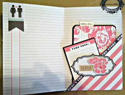 TERESA COLLINS DESIGN TEAM: Family Stories Mini Album by Yvonne Blair