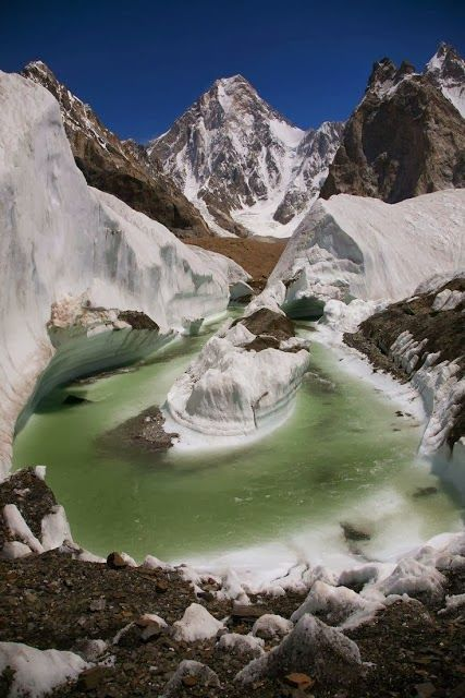 Baltistan, Pakistan- - As much as we've heard of Pakistan, I've never mentally pictured a scene like this.