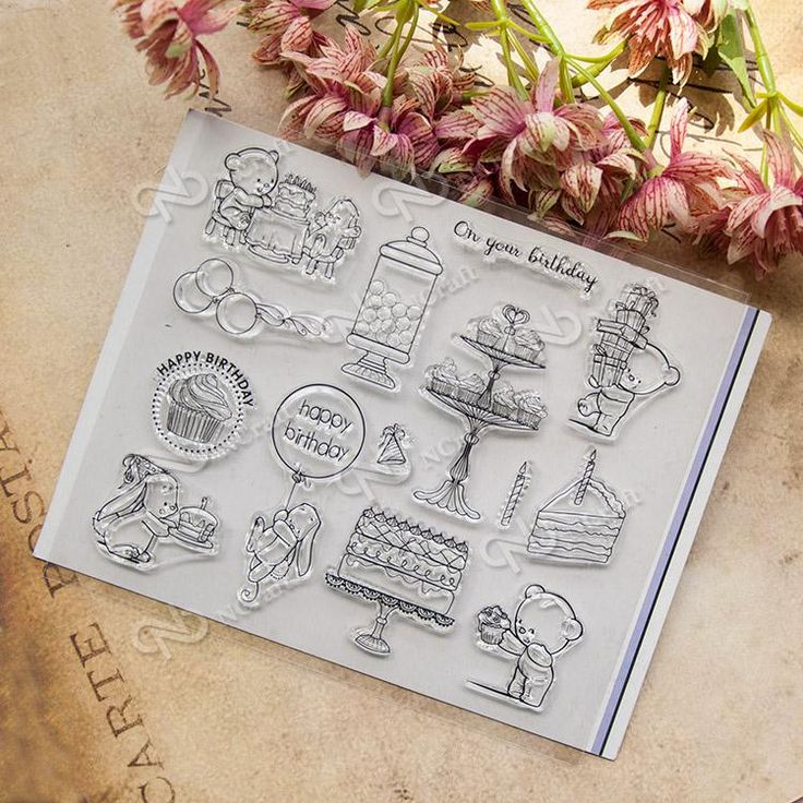 [Visit to Buy] NCraft Clear Stamps N1243 Scrapbook Paper Craft Clear stamp scrapbooking #Advertisement
