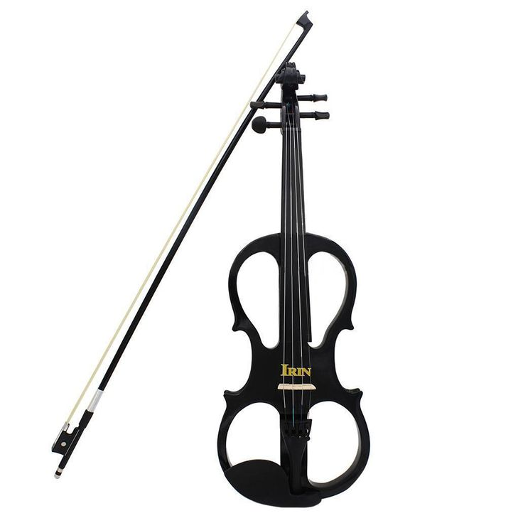 IRIN 4/4 Wood Maple Electric Violin Fiddle with Ebony Fittings Cable Headphone Case Black | Dream Jewelry Place. Find Earring, Necklace, Rings and More.