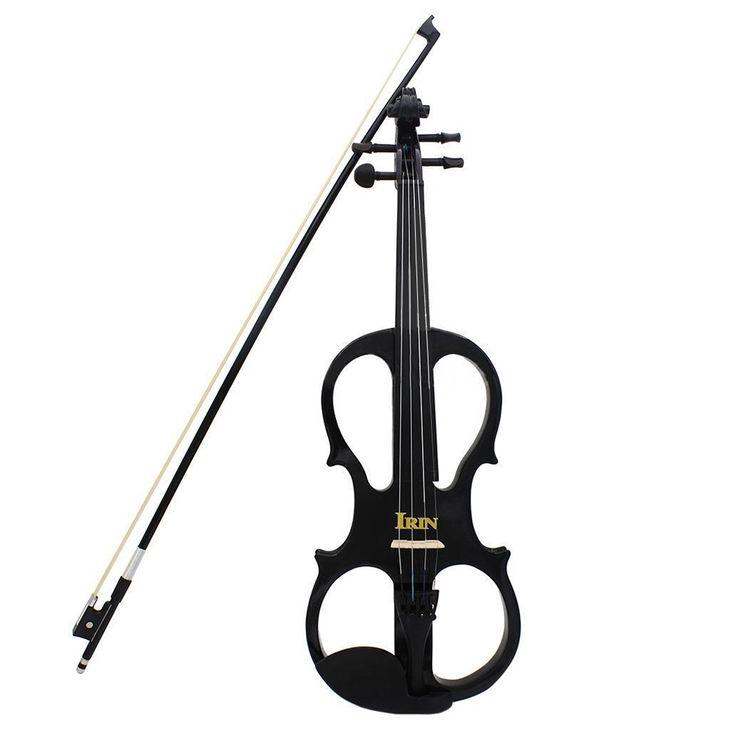 Resultado de imagen para violin electrico negro