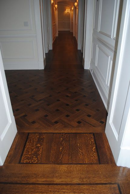 This Is A Beautiful Example Of A Fine Wood Floor With Lots Of Care And Time  Given To The Details. Note The Small Area With The Perpendicular Boards And  A ...