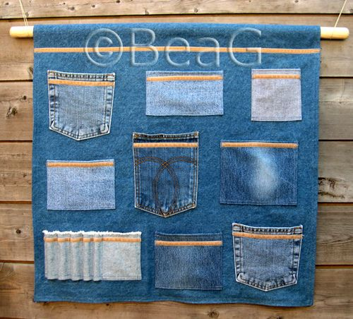 denim surgery - upcycle ideas for jeans  For those of us can't sew - rivets, brads, and heavy duty iron-on tape should hit the bill! Love to be able to recycle these types of things!
