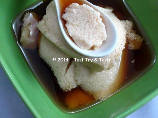Just Try & Taste: Tofu Puding: Hangat di Perut, Nyaman di Lidah