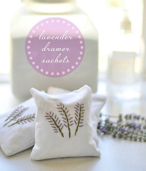 lavender drawer sachets
