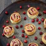 Turkey & Cranberry Relish Bread Rolls