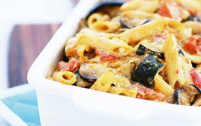 Roast Vegetable Pasta Bake