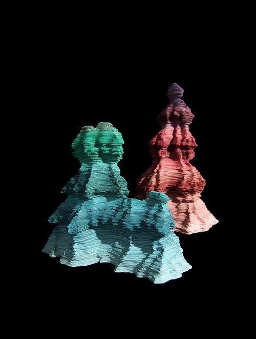 Supposed Stalagmites, by Jennifer Rose Sciarrino
