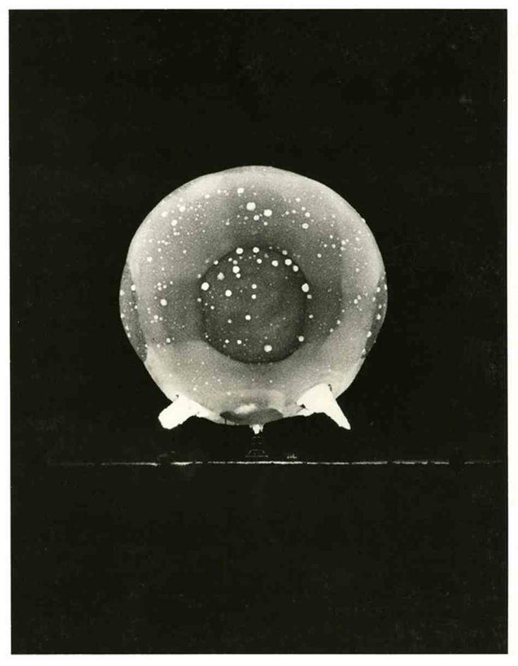 Harold Eugene Edgerton @ EG&G, Rapatronic Photograph 1/1000,000,000 of-a-second of an Atomic bomb explosion at the Nevada Proving Grounds, circa 1952.  http://edgerton-digital-collections.org