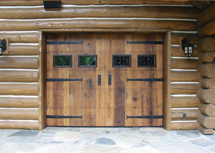 rustic garage doors20 best Garage Doors images on Pinterest  Garage doors Garages