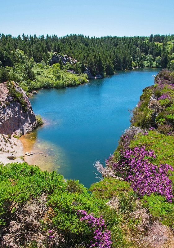 Carrigfoyle disused quarry  ڿڰۣ✿ Forth Mountain, Co. Wexford, Ireland.