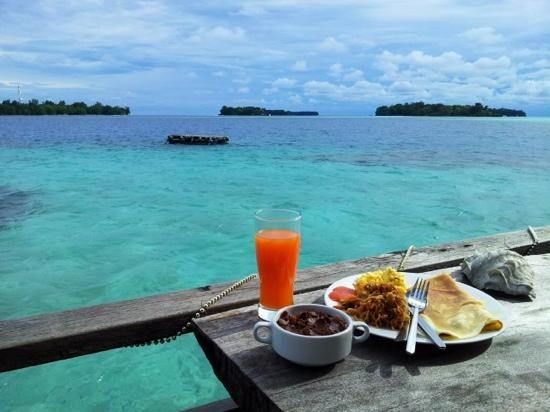 Tiger Islands Eco Resort & Village: Breakfast
