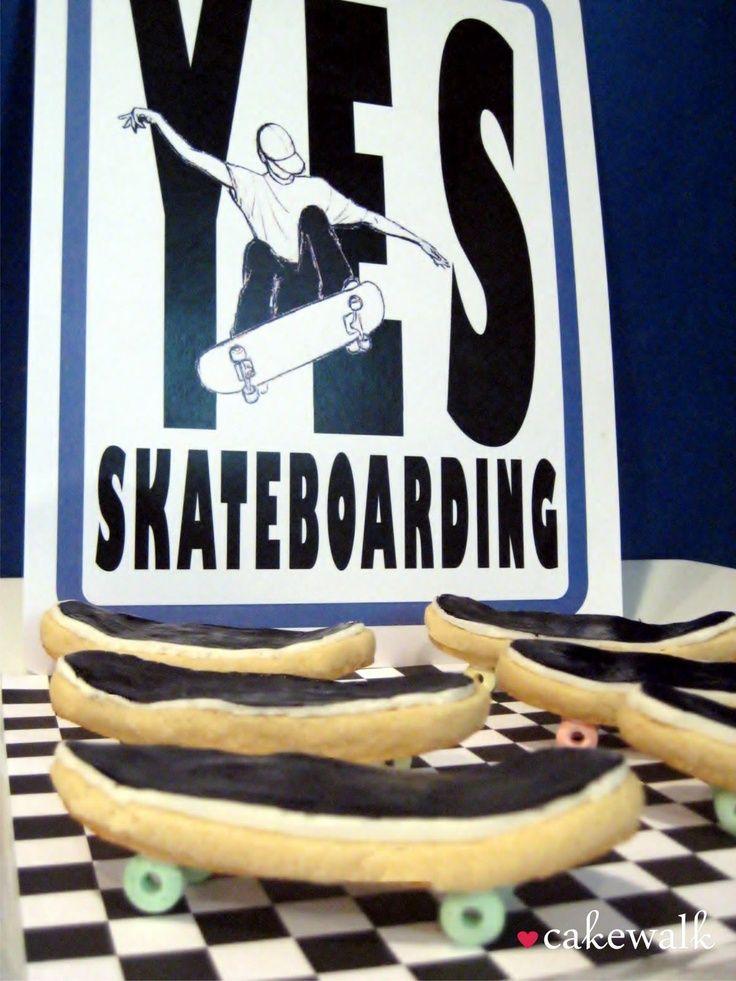 28 best Skateboarding Party images on Pinterest | Birthday ideas ...