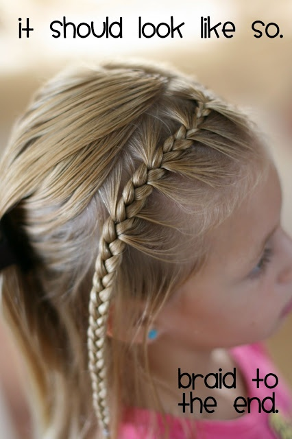 Blog with all kinds of ideas and instructions for fixing girls hair.