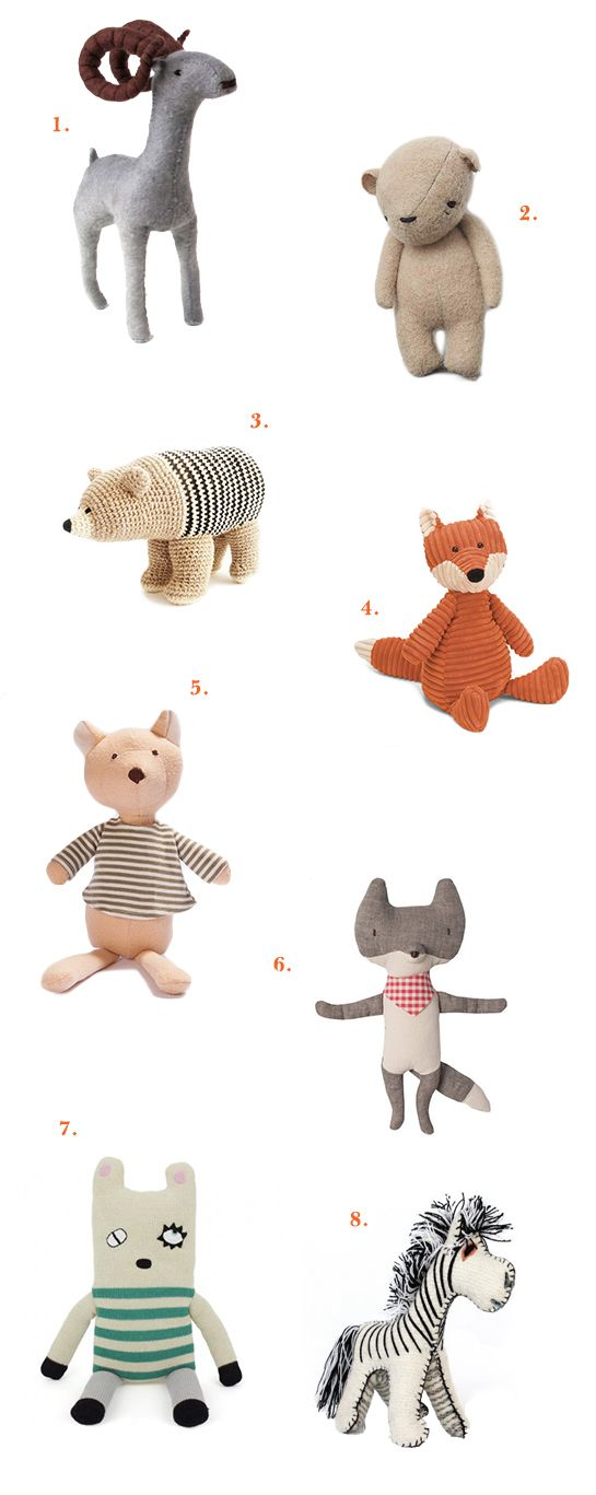 The Sweetest Softies. - The Animal Print Shop Blog