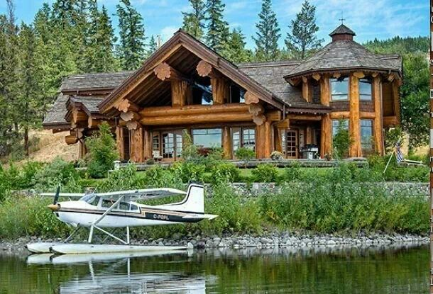 Cabin By The Lake Dream Homes Pinterest