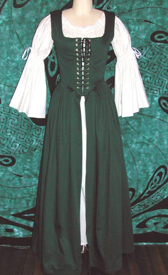 Irish Dress - Corsetry and Renaissance Clothing - Bellydance and Yoga Wear by Crimson Gypsy Designs | SmugMug