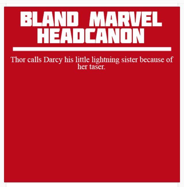 Marvel Headcanon