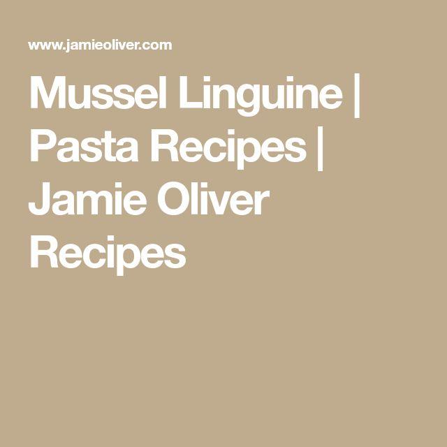 Mussel Linguine | Pasta Recipes | Jamie Oliver Recipes