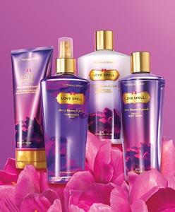 Victoria Secret - Lovespell! My favorite lotion since high school... still use it :)