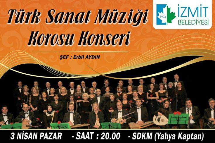 Tüm müzikseverleri Pazar akşamı saat 20.00'da gerçekleştirilecek konserimize bekliyoruz...