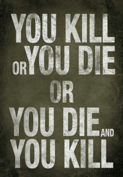 The Walking Dead quote