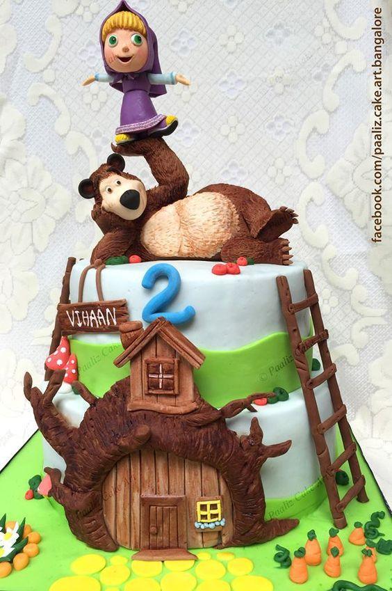 Masha e o Urso é um dos desenhos mais fofos que existe na televisão atualmente (uma pena que passe tão tarde). Aqui em casa todos somos fãs e a Masha ...