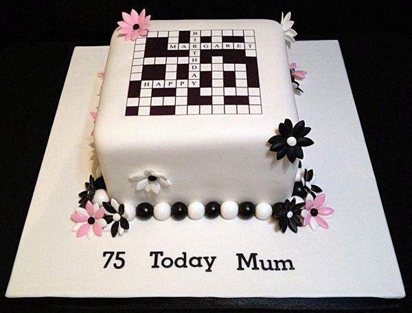 Crossword Cake by Nicola Cooper, via Behance