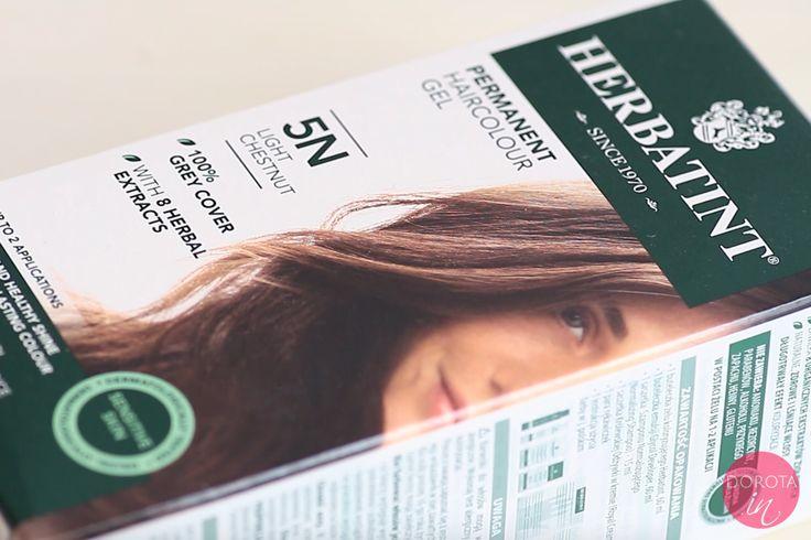 Farba do włosów Herbatint w kolorze 5N.  http://dorota.in/farba-do-wlosow-herbatint-recenzja-kolor-5n/  #uroda #beauty #włosy #hair