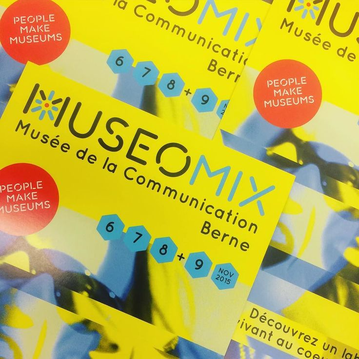 Museomix.CH 2015: Musée de la Communication à Berne #Museomix #MuseomixCH