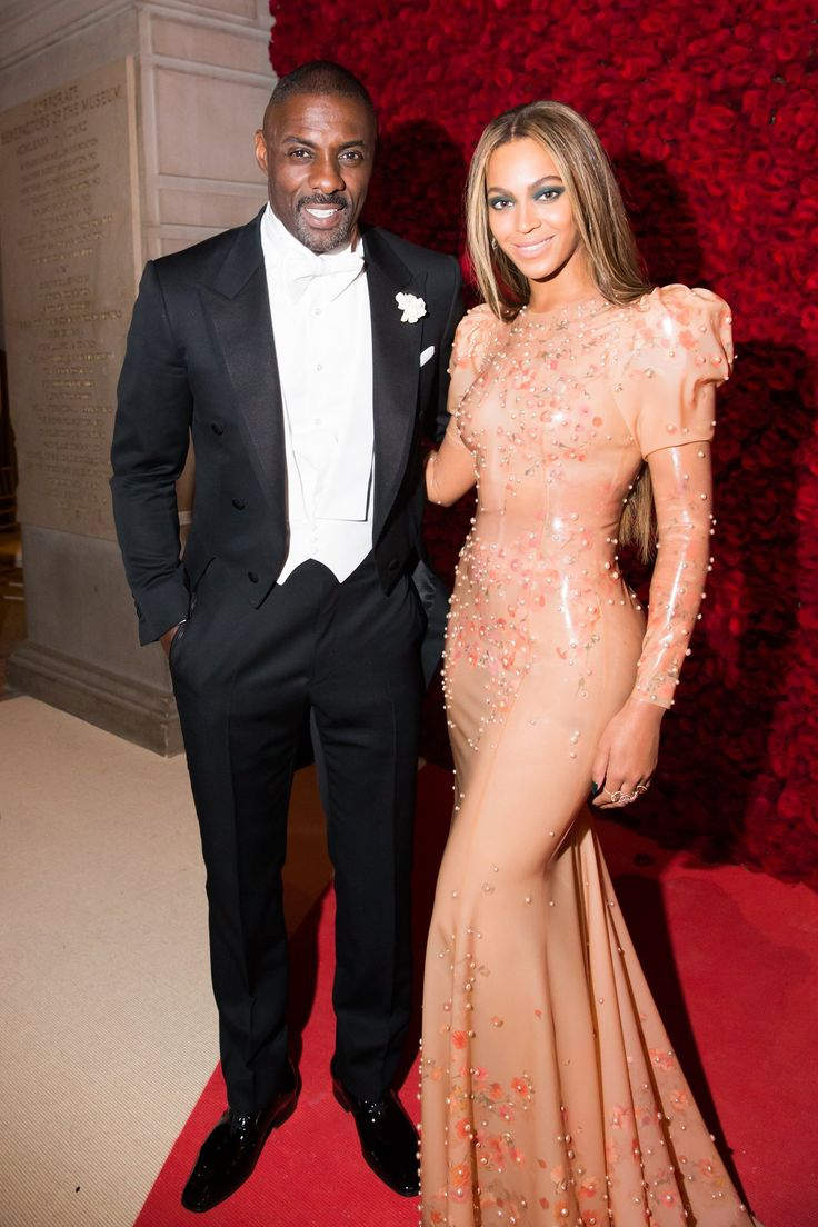 Idris Elba and Beyoncé in Givenchy Haute Couture