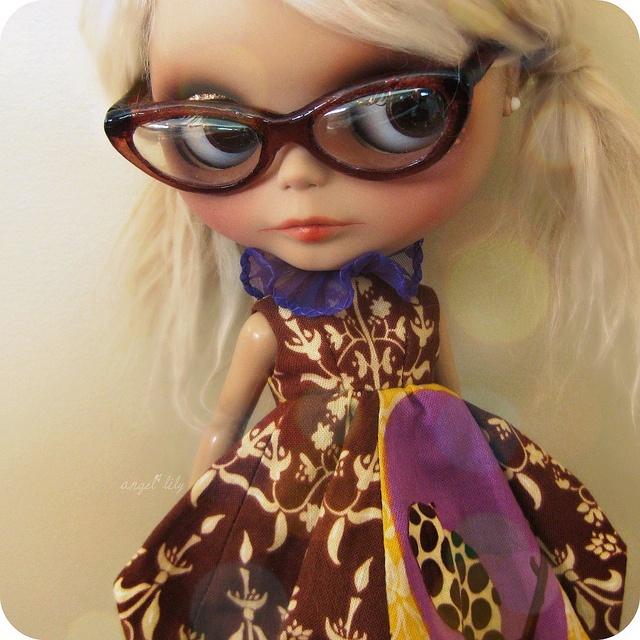 Blythe Doll Shelf Flickr Search Blythe With Glasses