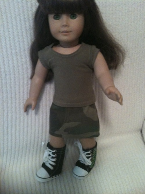 103 best american girl doll camo images on pinterest