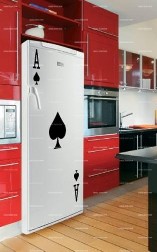 Les 131 meilleures images du tableau stickers cuisine sur pinterest cuisiner stickers cuisine - Frigo qui fuit ...