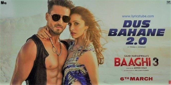 Dus Bahane 2 0 Mp3 Song Download From Baaghi 3 Movie 2020 By K K