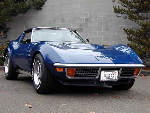 1972 Corvette ZR1, Nice blue ride!