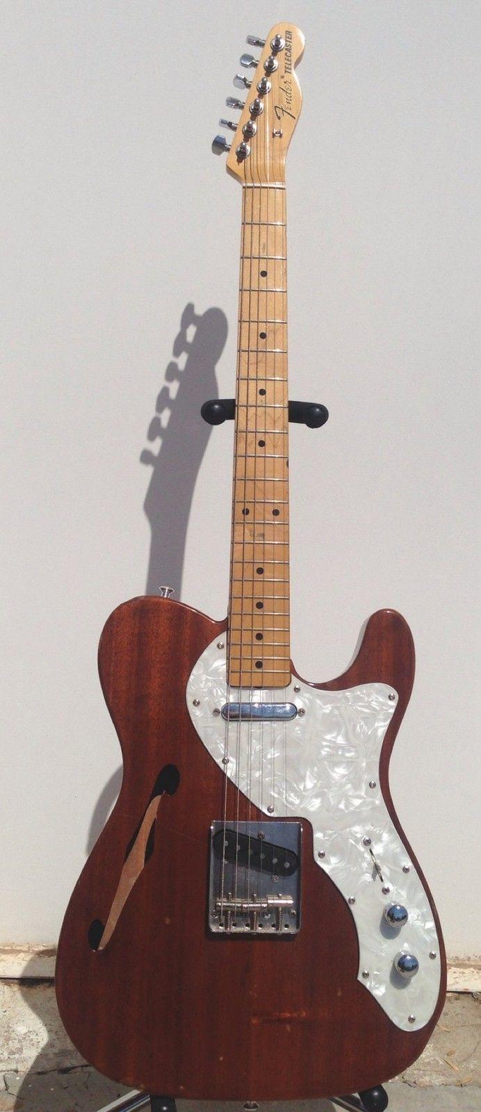 80s Fender 69 JAPAN Telecaster Thinline MIJ TELE C@@L Cowboy PLAYERS BAR GUITAR