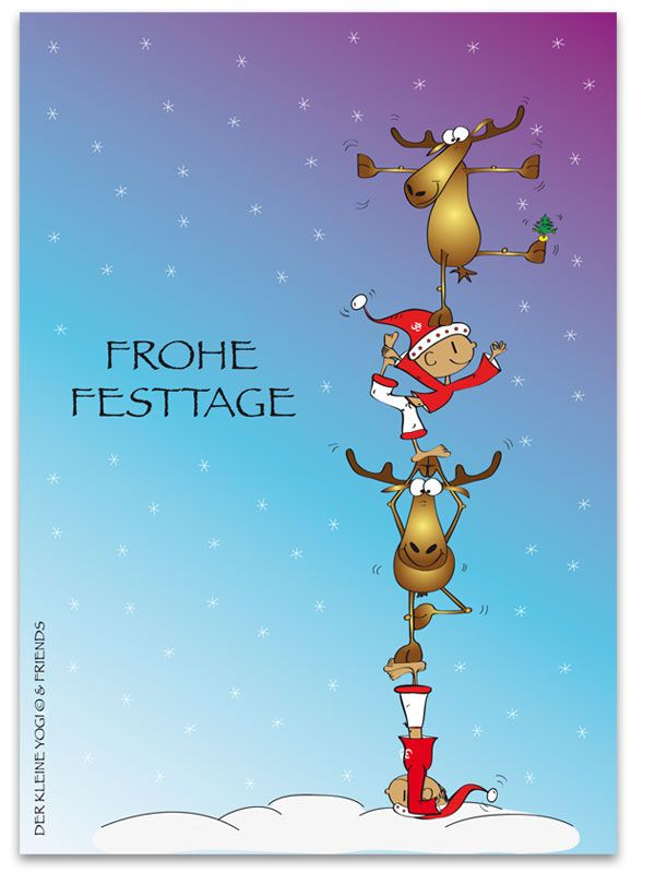 Frohe Festtage Happy Holidays Chosen Cards Christmas