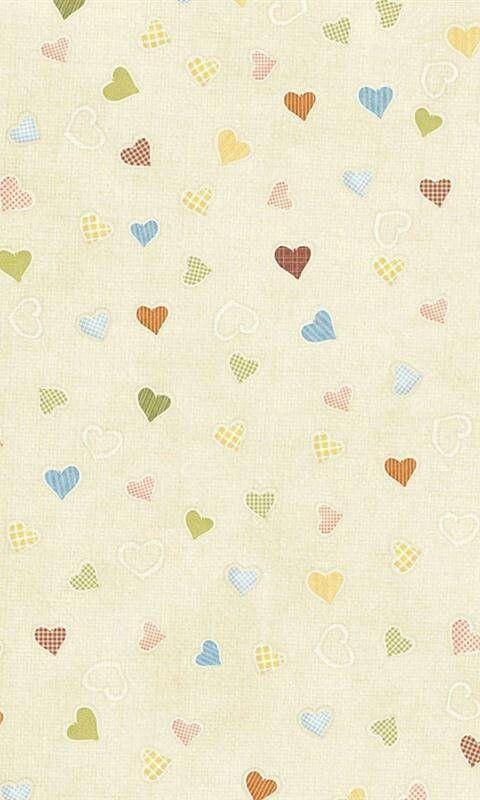 Fondo corazón, colores claros