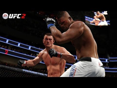 UFC (Ultimate Fighting Championship): UFC 203 | EA SPORTS UFC 2 Simulation – Miocic vs Overeem